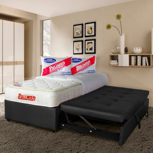 basecama pullman angie sencilla - con cama auxiliar