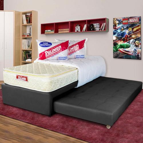 basecama pullman junior sencilla - con cama auxiliar