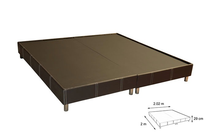 Bases cama king size madera base cama king size tapizada for Medidas de king size y queen size