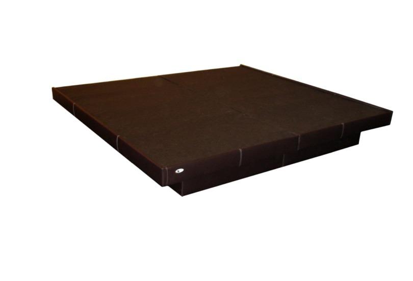 Bases cama queen size madera cama tapizada volada for Base para cama queen size minimalista