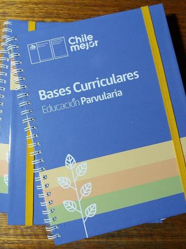 bases curriculares educación parvularia