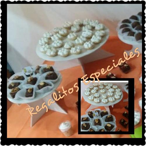 bases de altura para tortas o cupcakes (triple)