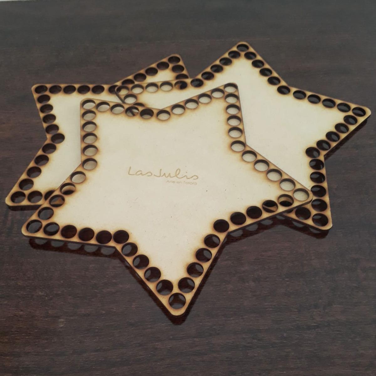 Bases De Fibrofácil.para Tejer Canastas De Totora Al Crochet - $ 765 ...