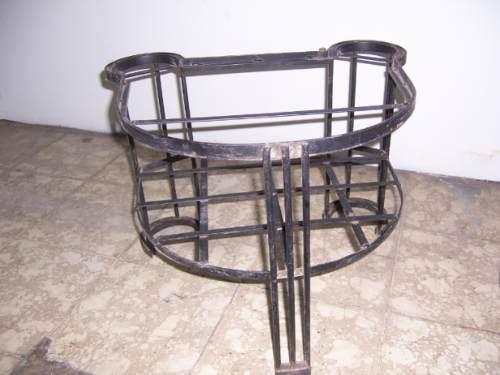 bases de hierro para mesas, buros, etc, muy baras