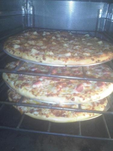 bases de pizza precocida personal, chica, mediana y grande