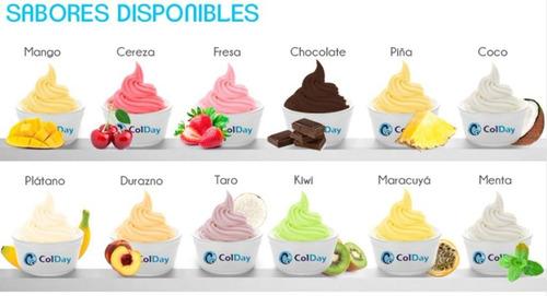 bases helado muestra gratis - colday