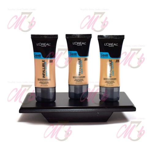 bases loréal pro-matte y pro-glow foundation infallible