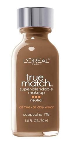 bases l'oréal true match tonos c4, n5, n8 y w6, originales!