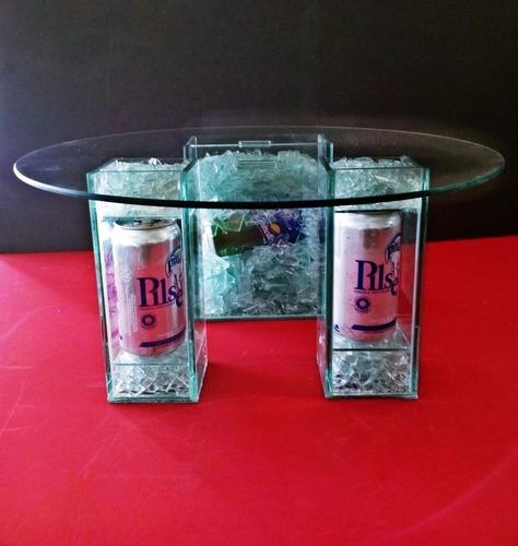 bases originales para cumpleaños y fiestas.en vidrio+diseños