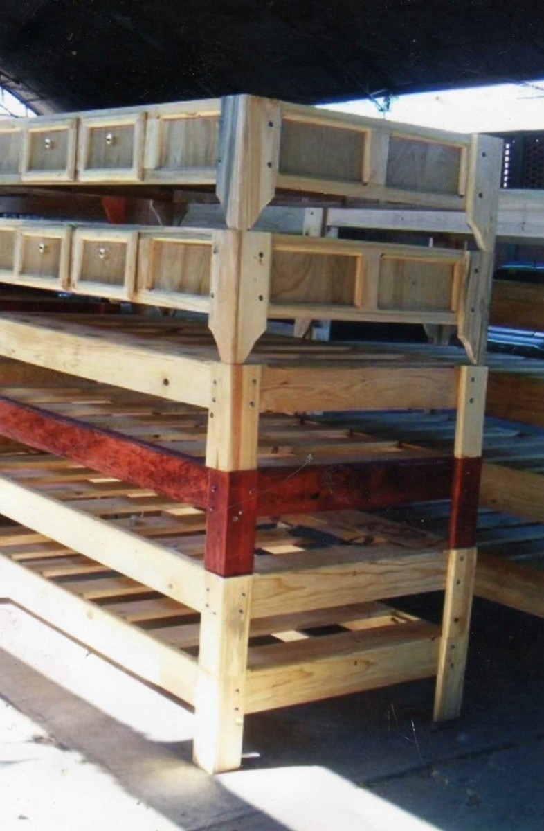 Bases de madera para cama en mercado libre - Bases de camas de madera ...