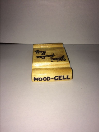 bases para celular (wood-cell)