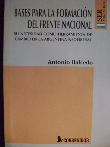 bases para la formacion del frente nacional-balcedo-excelent