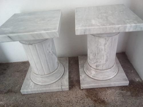bases para mesa de mármol blanco carrara genuino.