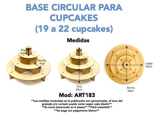 bases para mesa de postres y dulces accesorios art183