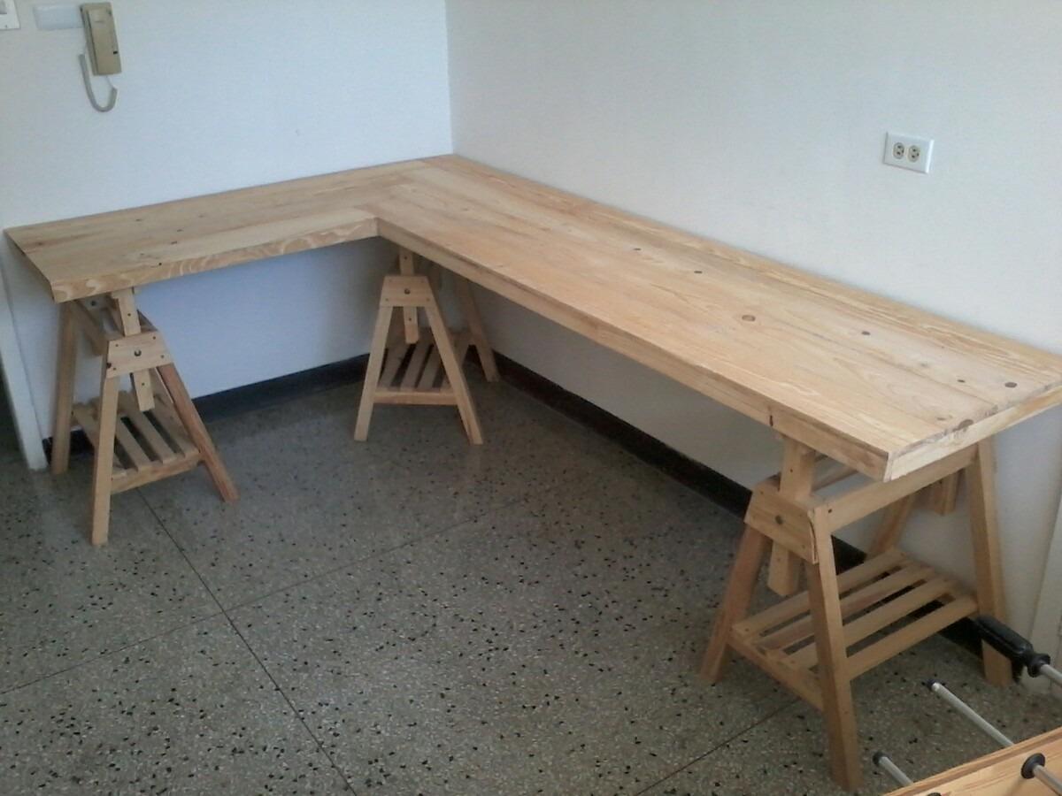 Bases para mesas o meson en madera de pino 100 bs 90 for Meson madera otivar