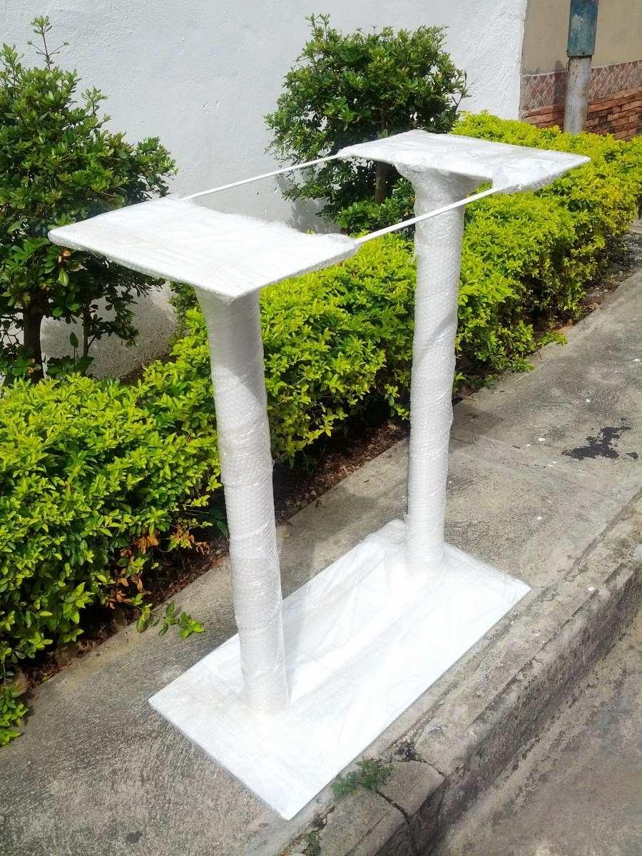Bases para mesas rectangulares dobles restaurant leer bien for Bases de mesas cromadas