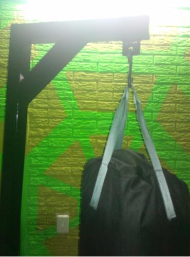 bases para sacos de boxeo (incluye gancho s)