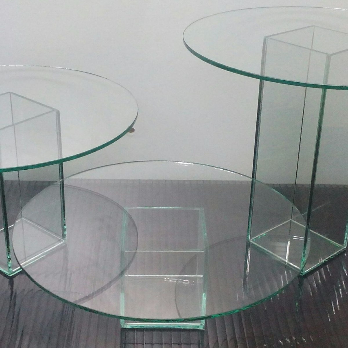 Bases y soportes para tortas fabricadas en cristal bs 4 for Base de cristal para mesa