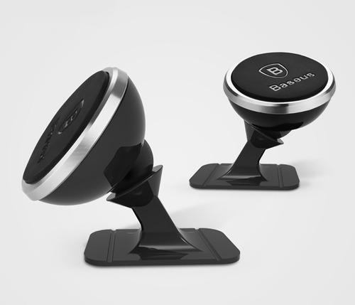 baseus soporte imantado giratorio 360 para auto - mesa etc.