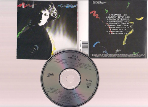 basia - time and tide - cd - by maceo