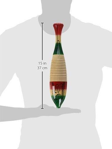 basic beat small (12 ) madera guiro, diseño de pez