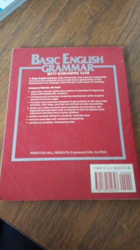 basic english grammar. betty schrampfer azar