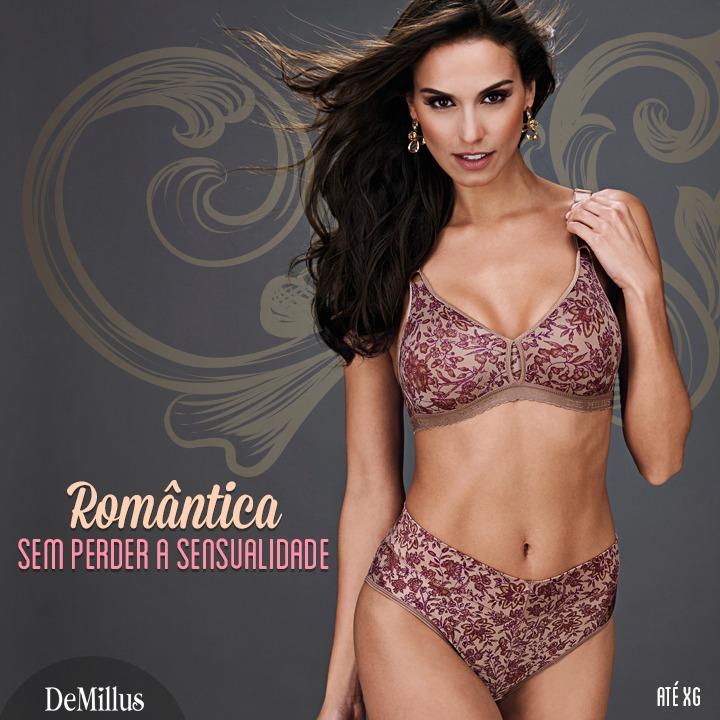 3246bcf1d Básico Encantador!!! Conjunto Plus Size Firantela   Demillus - R  76 ...