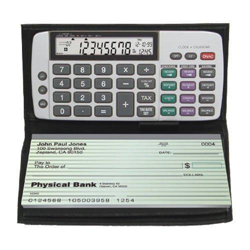 básico,calculadora del talonario de cheques datexx db-41..