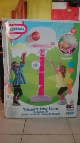 basketball chicas little tikes totsports\ bola no incluida