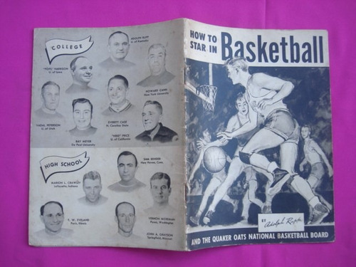 basketball how to star in  - adolfph rupp - idioma ingles