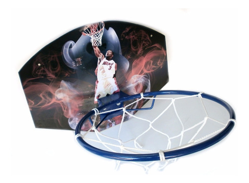 basquet aro tablero