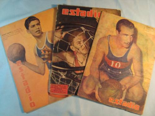 basquetbol, 1943-1946. revistas estadio (3)