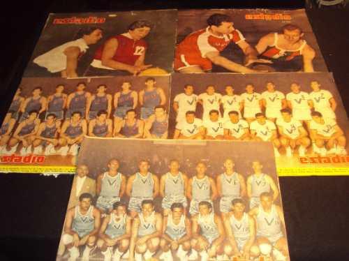 basquetbol, 1955 a 1962, revista estadio (5)