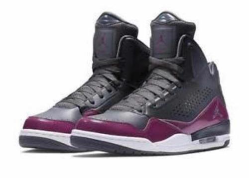 basqueteira rara flight jordan sc-3 black purple(cor rara)