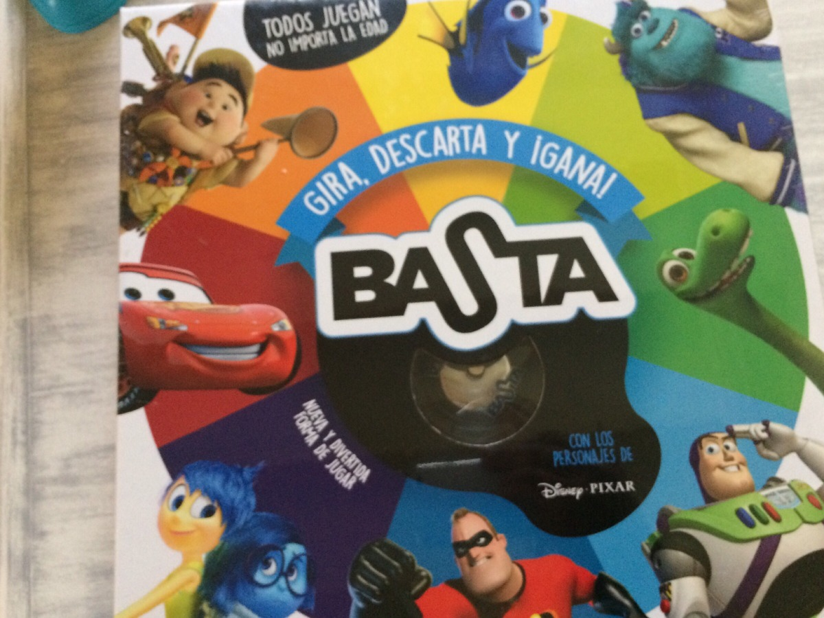 Basta Juego De Mesa Disney 400 00 En Mercado Libre
