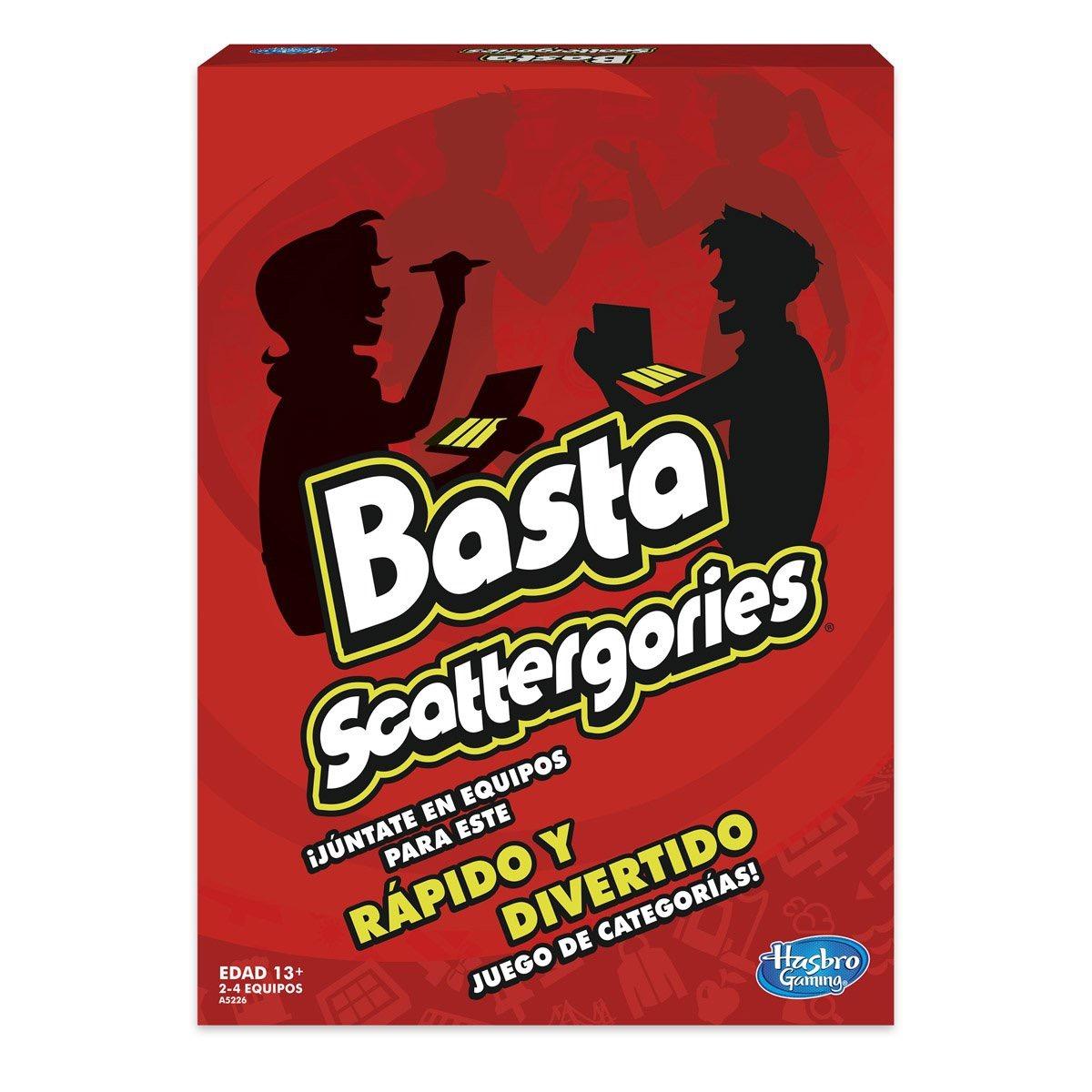 Basta Scattergories Hasbro Juego De Mesa 250 00 En Mercado Libre