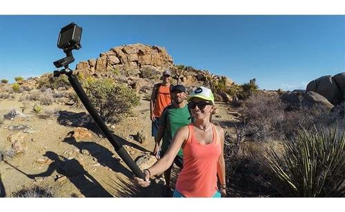 bastao extensor pau selfie monopod el grande gopro agxts-001
