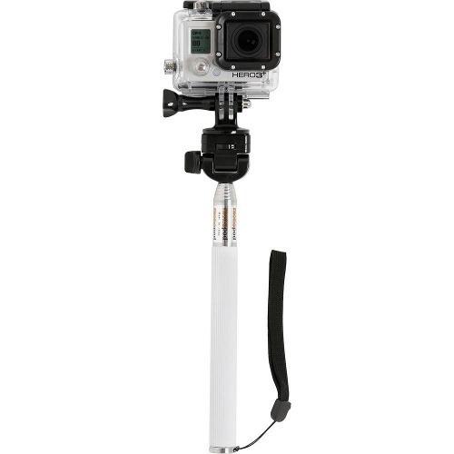 bastao selfie monopod adaptador gopro go pro celular driftin