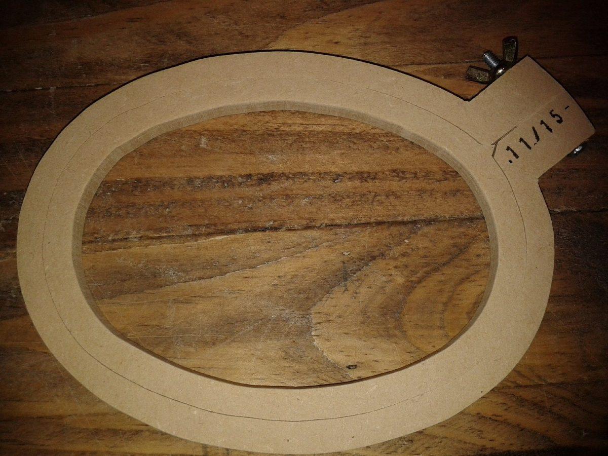 Bastidor Bastidores Para Bordar Bordado Ovalado 11cmx15cm - $ 119,00 ...