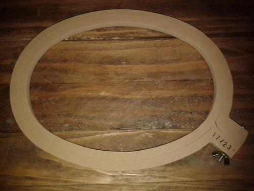 bastidor bastidores para bordar bordado ovalado  17cmx23cm