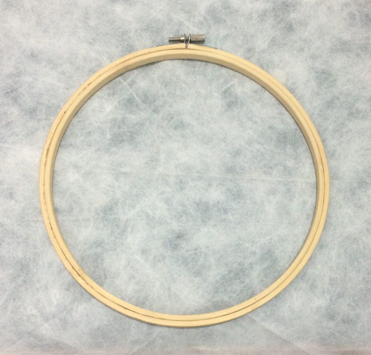Bastidor De Bambú Para Bordar De 23cm - $ 150,00 en Mercado Libre