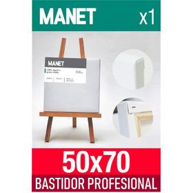 Bastidor Entelado Acrilico Oleo Manet 50x70   One Art