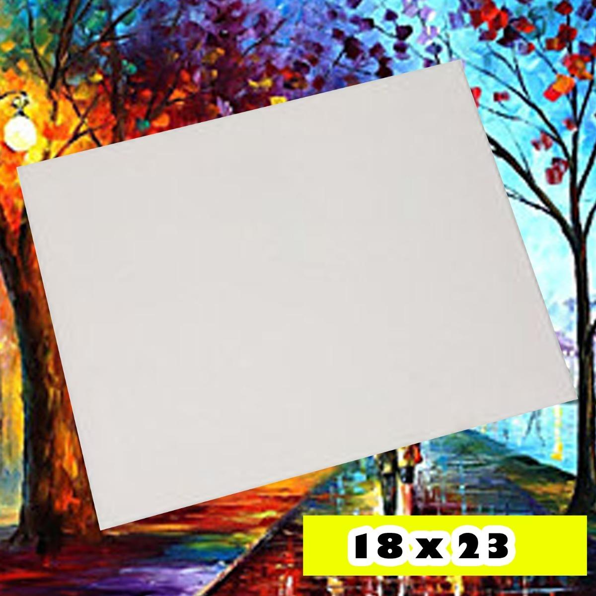 Bastidor Lienzo 18 X 23 Cm Listo Para Pintar - $ 6.000 en Mercado Libre