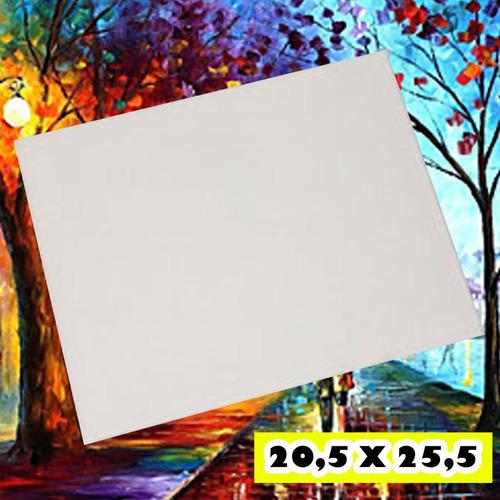 bastidor lienzo 20,5 x 25,5 cm listo para pintar