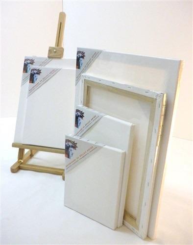 bastidor lienzo pintar madera de pino 40x60cm - importado