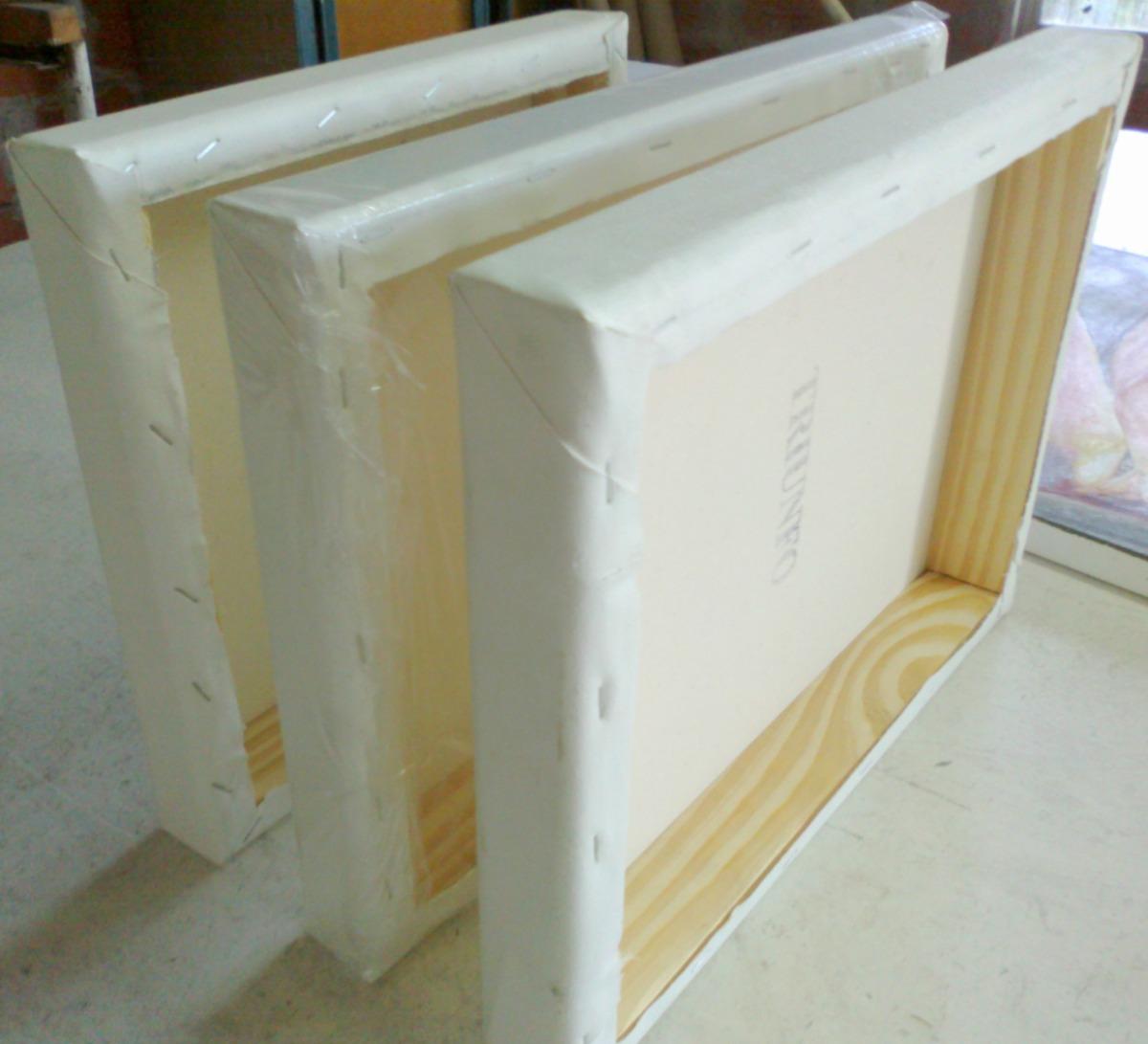 Bastidores Caja De 4.5 Cm De Espesor. Somos Fabricantes!!! - $ 47,99 ...