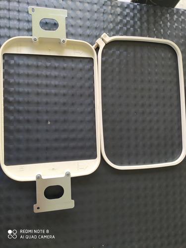 bastidores para máquina de bordar janome mb4  elna9900 usado