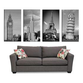 Bastidores, Torre Eiffel, Pisa, Empire State, Big Ben