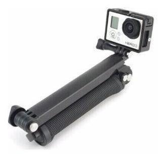 bastão 3 way pau de selfie gopro sjcam