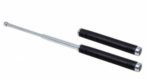 bastão cassetete retrátil aço - tático para defesa pessoal